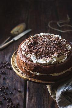 Gluten-Free Chocolate Chestnut Cream Cake