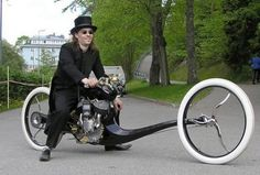 25 Craziest Motorcycles Ever - 9 Laughs