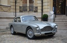 1957 Aston Martin DB Mk III coupé #style #gentlemen #motors