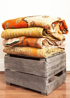 Home & Garden 10pc Kantha Quilt Indian Vintage Reversible Throw Handmade Blanket Wholesale Lot Reliable Performance Bedding