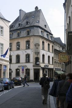 A view of Luxembourg City (where I hail from)