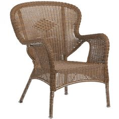 This is remarkably comfortable with a cushion - I sat on it - and is on sale at $139. From Pier 1. Coco Cove Armchair - Honey