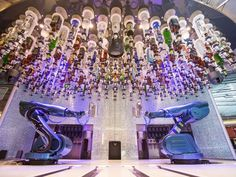 Robot bartenders? This new cruise ship has them