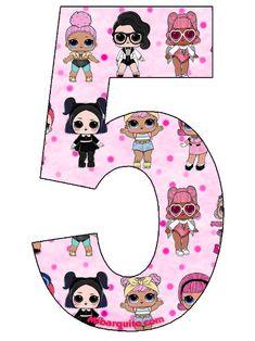 Funny Birthday Cakes, Diy Birthday Banner, Cute Happy Birthday, Unicorn Birthday Parties, Lol Doll Cake, Cowgirl Party, Doll Party, Diy Presents, Diy Ribbon