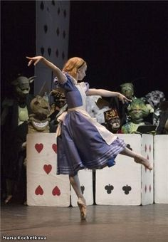 "Maria Kochetkova in ""Alice in Wonderland"""