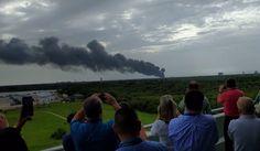 El cohete del Falcon 9 de SpaceX acaba de explotar #Ciencia #Noticias #Aeronáutica