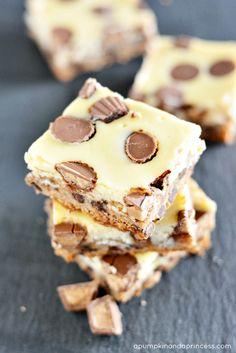 Gluten-Free Reese's Cheesecake Bars