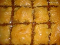 Baklava (fotorecept) - recept | Varecha.sk Czech Recipes, Sweets, Gummi Candy, Candy, Goodies, Treats, Deserts