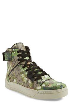 Gucci 'New Basketball' High Top Sneaker (Men)