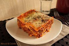 Mes Lasagnes … – Maryse & Cocotte