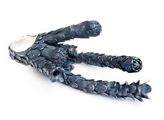 Nora Rochel  Ring: Untitled  925 blackened silver  10 x 4.5 x 3 cm