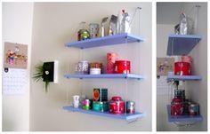Le blog de Pillapon: DIY : Notre étagère balançoire home made