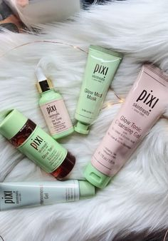 Pixi Skin Care Products I love and pixi skin care products I hate. #skincare #skincaretips #pixi #pixiglow #glow