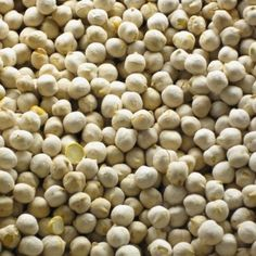 Roasted chick peas (white)  Chick peas are cooked chickpeas!   Eating chick peas is a smart way to increase the consumption of legumes.