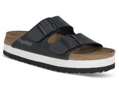 Råfin sandal med platå fra Birkenstock! Dette er sandaler du kommer til å bo i når varmegradene