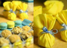Macarons para lembrança