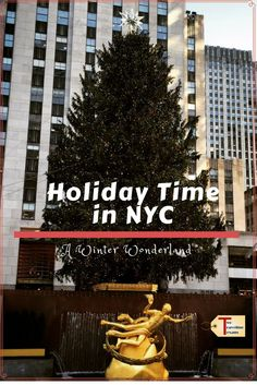 A travel blog about the best things to do during the holiday season in New York City including seeing the Rockettes and the Rockefeller Center Tree. via @2travelingtxns