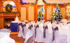 Silver & Crystal Wedding Theme at the Glenview Hotel We love the top table layout in the middle of the room! Crystal Wedding, Wedding Gallery, Flower Arrangements, Wedding Flowers, Wedding Venues, Dream Wedding, Layout, Make It Yourself, Table Decorations