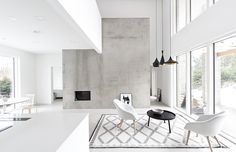 A beautifully simple, graphical home in Finland