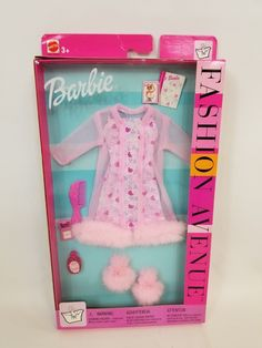 1999 Barbie Fashion Avenue Charm MIB Bathtime Chat Doll Clothes 25702 Mattel for sale online Barbie Dolls Diy, Barbie Fashionista Dolls, Barbie Toys, Diy Doll, Barbie Doll Stuff, Sewing Barbie Clothes, Vintage Barbie Clothes, Candy Theme Birthday Party, American Girl Doll Sets