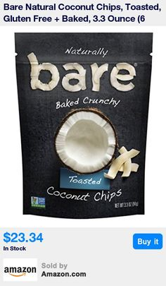 Real coconuts, baked 'til they're crave-ably crunchy. Snacks gone simple. * New look, same great crunch! (Packaging may vary) * Gluten free, no added oil, good source of dietary fiber, Non-GMO, no added preservatives * Product of Thailand * Contains 6 - 3.3 ounce bags
