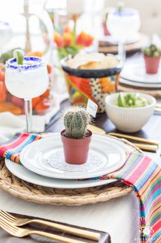 Mexican Fiesta Party Ideas (& the Best Authentic Guacamole Recipe)