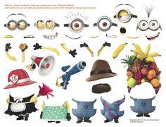 Despicable Me Minion Twinkie accessories