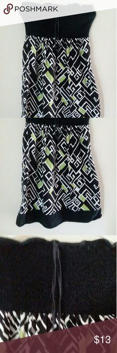 Provogue dress Used. Still in good condition. Tight fitting on top. Convertible dress/skirt. Summer. provogue Dresses Midi