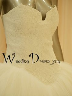 свадебное платье Vera в деталях