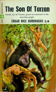 The Son of Tarzan by Edgar Rice Burroughs