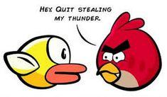 Flappy Bird 07 Angry Bird