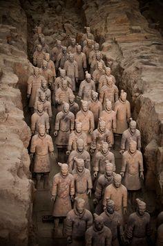 Guerreros de Terracotta Warriors, China