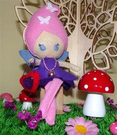 Fairy felt doll | Puddle Ducklings | madeit.com.au