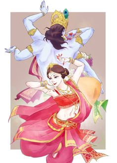 mohini by MXblizzzzzzz on DeviantArt Lord Krishna Images, Krishna Pictures, Krishna Drawing, Indian Illustration, Lord Krishna Wallpapers, Dancing Drawings, Krishna Radha, Durga, Ganesha Painting