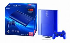 Sony reveals blue 250GB PS3 for $250, exclusive to GameStop