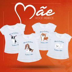 E para demonstrar o seu amor, clique na imagem e conheça as nossas batas Mãe de Cachorro também é mãe!  #mãedecachorro #dog #love