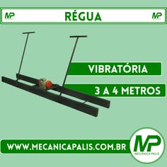 Régua Vibratória, 3 a 4M. Confira esse e outros produtos em nosso site! Acesse já: www.mecanicapalis.com.br