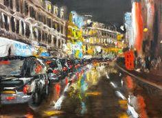 """""""CELUI QUI EST LASSE DE LONDRES, L'EST DE LA VIE, CAR LONDRES, A TOUT CE QUE LA VIE PEUT OFFRIR."""" Samuel Jackson Street of London, light  & Water- Camilo Flores"""