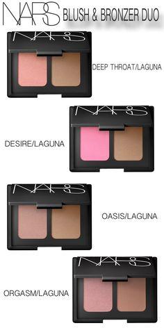Blush/Bronzer Duo - NARS   Sephora must have blush/bronzed duo in ...