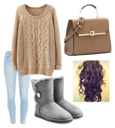 """""""Untitled #12"""" by jocygirl on Polyvore featuring Paige Denim and UGG Australia"""