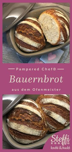 ᐅ Farmhouse bread recipe ⇒ Ofenmeister - Pampered Chef®- Rezept Bauernbrot ⇒ Ofenmeister – Pampered Chef® Delicious farmhouse bread – any topping fits on this bread, whether sweet or savory Cinnamon Roll French Toast, Pumpkin French Toast, French Toast Bake, Challah French Toast Casserole, Blueberry French Toast Casserole, Pampered Chef, Farmhouse Bread Recipe, Pain Perdu Simple, Chefs
