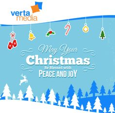 #VertaMedia wishes you a wonderful holiday season, filled with abundance, joy and treasured moments! Let #Christmas happen in your heart!