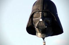 "Everyone has dreams, and we are pretty sure that the Star Wars cookbook was the pinnacle... until this: the Darth Vader Hot Air Balloon. According to Hi Consumption, ""Steve Sansweet from Lucasfilm, these die hard Star Wars fans dream became a reality with this incredible Darth Vader Hot Air Balloon."""
