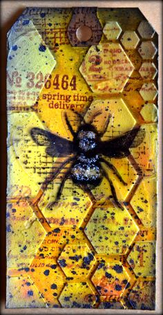 #papercraft #tag    This is rather well done. <3 Honey Bee 3d - Les bricos de Franco!