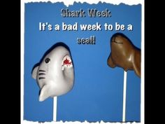 ▶ How to make a Shark Cake Pop! In honor of Shark Week. It's a bad week to be a Seal - YouTube