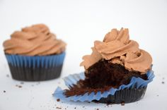 Chocolate a Cupcake with Chocolate Whipped Cream!!! Located at Laurier Ave W & Elgin St K1P 5J2 Ottawa, Ontario