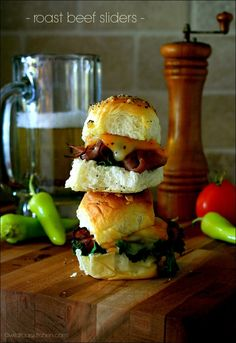 Are you ready for this? A new twist on one of our most popular recipes! Make Saucy Roast Beef and Cheese Sliders this weekend.