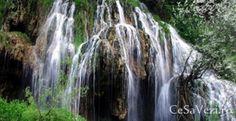 Cascada cu apă termală din Toplița