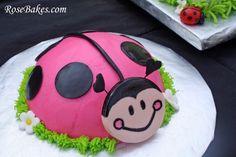 Oh So Sweet Ladybug Smash Cake