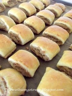 Pasties With Meat Polish Recipes, Meat Recipes, Appetizer Recipes, Cake Recipes, Cooking Recipes, My Favorite Food, Favorite Recipes, Christmas Dishes, Good Food